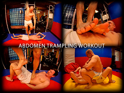 Abdomen Trampling Workout