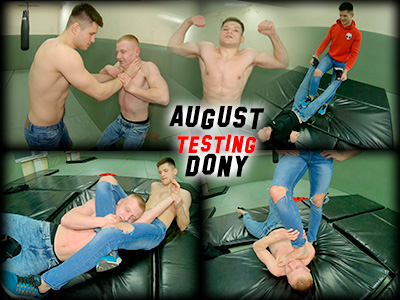 August testing Dony