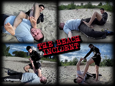 Beach Incident (Photoset)