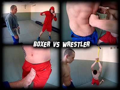 Boxer vs. Wrestler