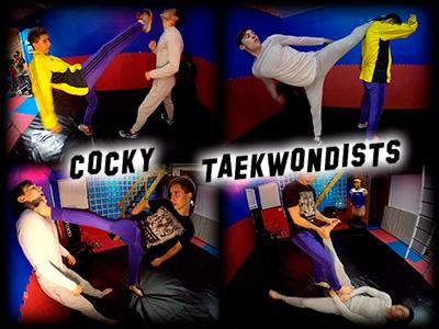 Cocky Taekwondists