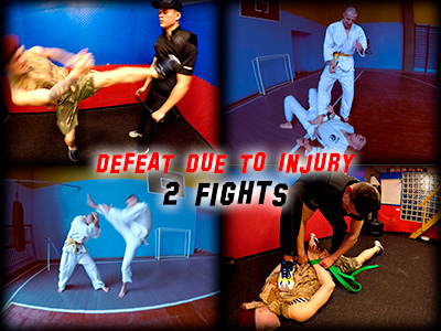 Defeat Due To Injury - 2 Fights