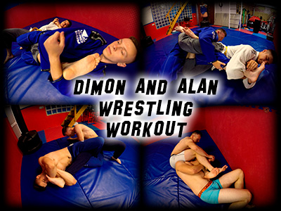 Dimon Alan Wrestling Workout