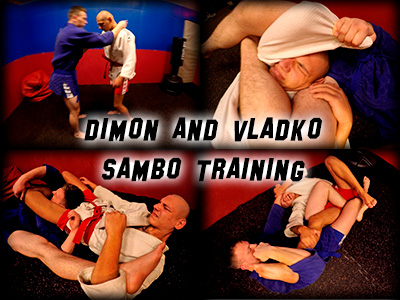 Dimon Vladko Sambo Training