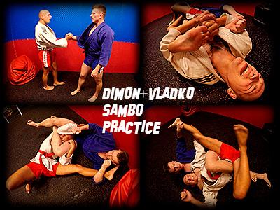 Dimon Vladko Sambo Practice