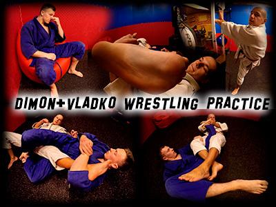 Dimon Vladko Wrestling Practice