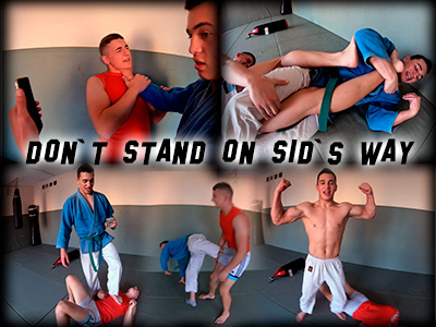 Don't stand on Sid's Way