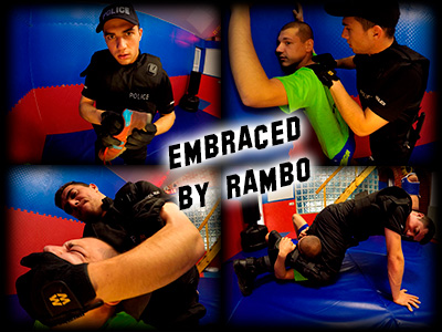 Embraced by Rambo
