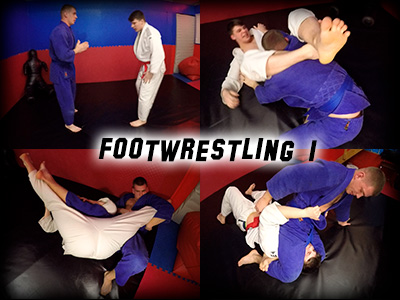Foot Wrestling 1