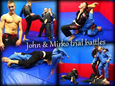 John & Mirko Trial Battle