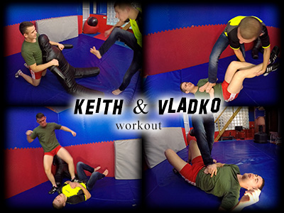 Keith and Vladko Workout