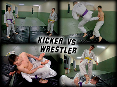 Kicker vs Wrestler