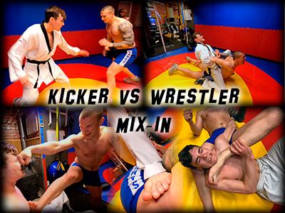 Kicker vs. Wrestler Mixin, Al / Saber