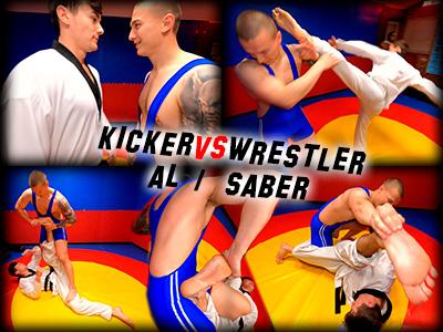 Kicker vs. Wrestler, Al / Saber