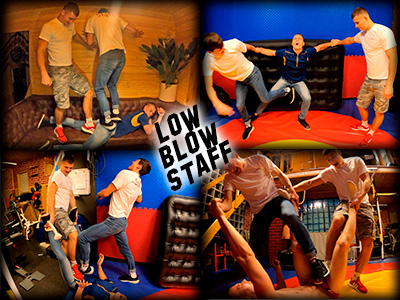 Low Blow Staff