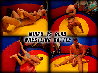 Mirko Glad Wrestling Battle