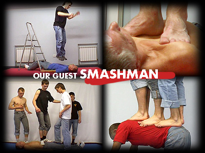 Our Guest's Smash Man