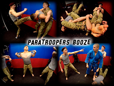 Paratroopers Booze