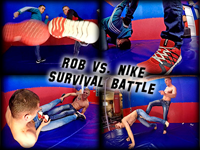 Rob vs Nike Survival Battle