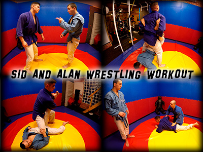 Sid Alan Wrestling Workout