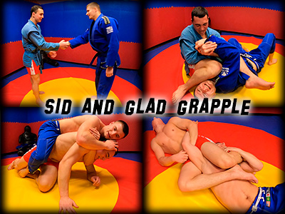 Sid and Glad Grapple