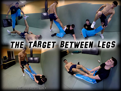 Target between Legs