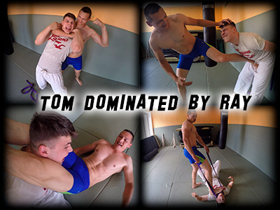 Tom dominated by Ray