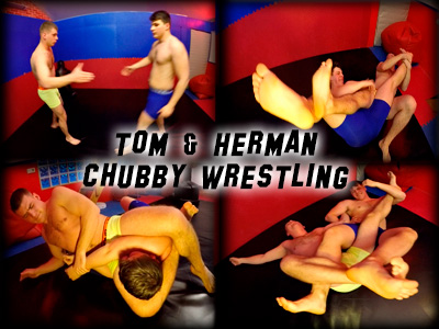 Tom Herman Chubby Wrestling
