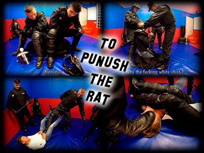 To punish the Rat