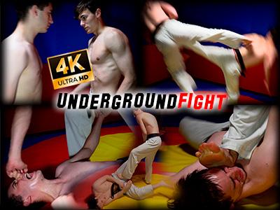 Underground fight